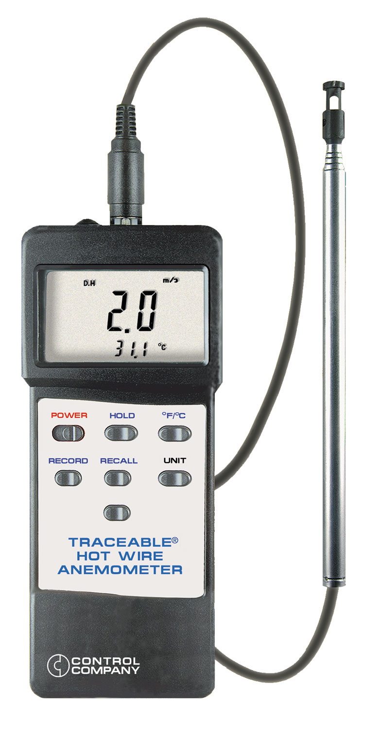 Apex Instruments: AN-4330 Hot Wire Anemometer with dual thermistors ...